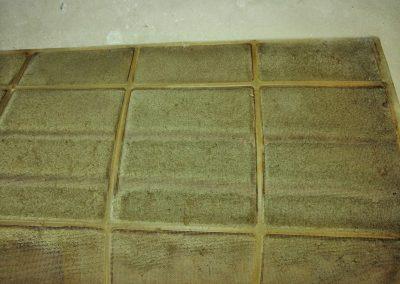 Servis klimatizácie, Špinavý filter na klimatizácii