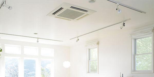 Komerčné klimatizácie, Kazetová jednotka klimatizácie
